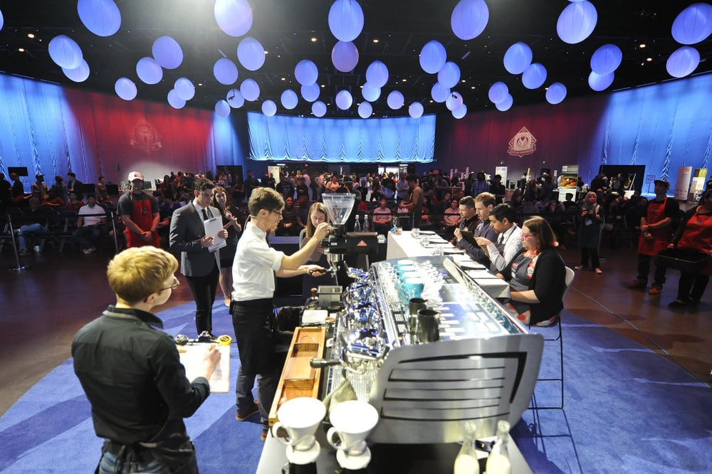 Barista competitions